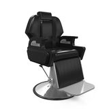 Barber Chair Isolated Stock Images