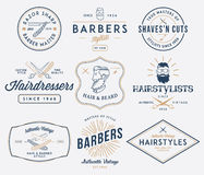 Barber 2 colored Stock Images