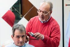 Barber Hairdresser Lizenzfreie Stockfotografie