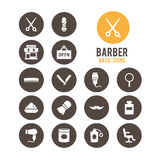 Barber icon. Vector illustration. Royalty Free Stock Image