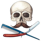 Barber Jolly Roger Royalty Free Stock Photos