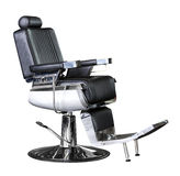 Barber leather seat Royalty Free Stock Photography
