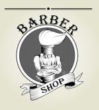 Barber logo vector Stock Image