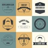 Barber Logos Stockfotografie
