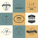 Barber Logos Royalty Free Stock Photos