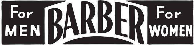 Barber For Men For Women royalty-vrije stock fotografie