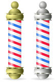 Barber pole Royalty Free Stock Images