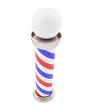Barber Pole 3d Illustrations. On a white background Stock Photos