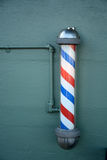 Barber pole Royalty Free Stock Photography