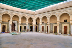 Barber's Mosque, Zaouia of Sidi Sahab, in Kairouan Stock Photos