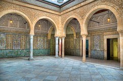 Barber's Mosque, Zaouia of Sidi Sahab, in Kairouan Stock Photography