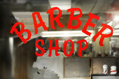 Barber Shop Royalty Free Stock Photos