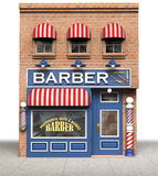 Barber Shop. Barbershop isolated on a white background Royalty Free Stock Images