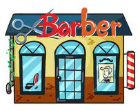 A barber shop Royalty Free Stock Photos