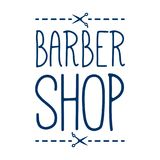 Barber Shop Badge /Label Photos libres de droits