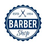 Barber Shop Badge /Label Photographie stock