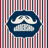 Barber shop design Royalty Free Stock Photo