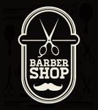 Barber shop design Stock Photos
