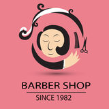 Barber shop. Since 1982 , a good shop vector illustration