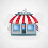 Barber shop. Stock Photography