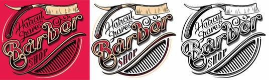 Free Barber Shop Logo Stock Image - 90427061