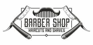 Free Barber Shop Logo Stock Photos - 99141733