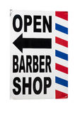 Barber Shop Sign Lizenzfreie Stockfotografie