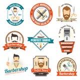 Barber Shop Sign Image stock