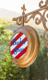 Barber shop sign Royalty Free Stock Image