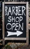 Barber Shop Sign Stock Photos