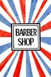 Barber shop stock images