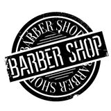 Barber shop stamp Royalty Free Stock Images
