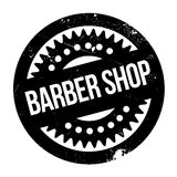 Barber shop stamp Stock Photos