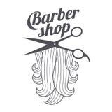 Barber shop templates Stock Photography