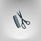 Barber Shop Vector Icon illustration libre de droits