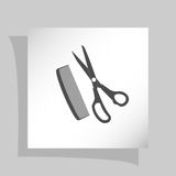 Barber Shop Vector Icon Royalty Free Stock Photo