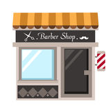 Barber shop vector. Illustration on white background vector illustration