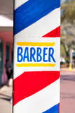 Barber sign Stock Photography