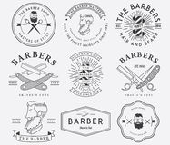 Barber style Stock Images