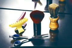 Barber tool close up Stock Image