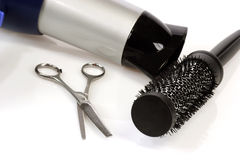 Barber Tools Stock Image