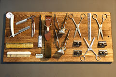 Barber tools Royalty Free Stock Photography