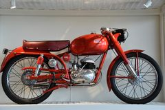 Barber Vintage Motorsports Museum en Leeds, Alabama fotos de archivo