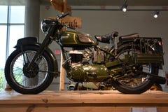 Barber Vintage Motorsports Museum i Leeds, Alabama Arkivbilder