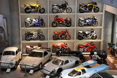 Barber Vintage Motorsports Museum in Leeds, Alabama. The museum has over 1,450 vintage and modern motorcycles and racing cars Royalty Free Stock Photography
