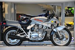 Barber Vintage Motorsports Museum in Leeds, Alabama. The museum has over 1,450 vintage and modern motorcycles and racing cars stock photos