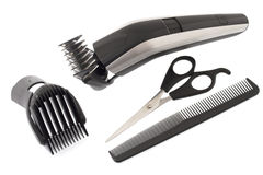 Barber work tools Royalty Free Stock Photography