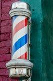 Barberare Pole Fotografering för Bildbyråer