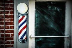 Barberare Pole Royaltyfria Foton