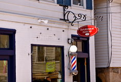 barberare s shoppar Royaltyfri Fotografi